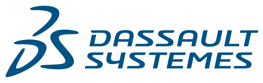 3DS Corp Logotype Blue RGB