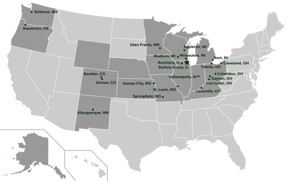 InFlow Technology Training Locations