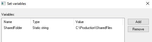 Creating a custom variable in PDM Pro Dispatch