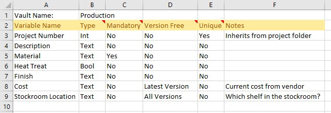 Here is an example worksheet that might have variables you want to add in bulk